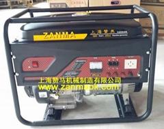 上海贊馬8kW三相手啟動汽油稀土永磁發電機組