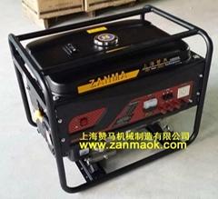 上海贊馬8kW-220V電啟動汽油稀土永磁發電機組
