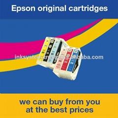 愛普生原裝拆機墨盒T0991-T0996