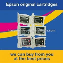 愛普生原裝拆機墨盒T0801-T0806