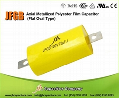 JFG - Axial Metallized Polyester & Polypropylene Film Capacitor