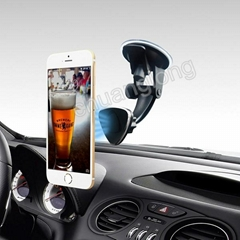Multi Angle Adjustable Car Windshield Magnetic Full Rotation Mount For Universal