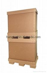 Heavy-duty corrugated shipping carton box