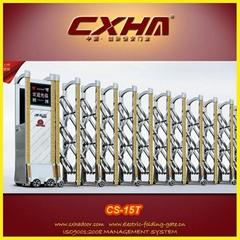 Electric Retractable Sliding Gate Automatic Folding Sliding Gate Equipment