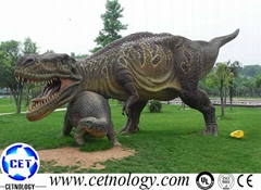Lifelike T-rex  Model Animatronic Dinosaur  Exhibition