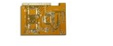 HASL Printed Circuit Board with Immersion Gold Finger, 0.2mm Minimum Board Thick