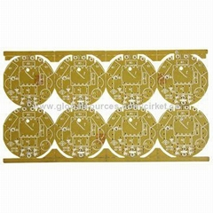 Single-sided PCB for LED Torch Power with 1.6mm Board and 1oz Copper Thickness