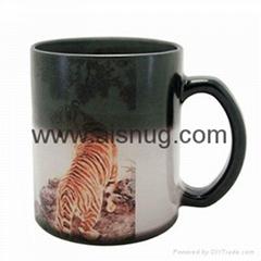 custom color changing sublimation mug