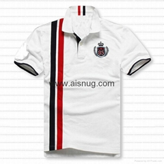 100% Polyester sublimation printing custom couple polo shirt design