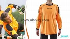 Customized 100% Polyester jersey long sleeve football shirt maker soccer jersey
