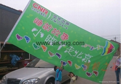 Hot selling all size roller digital printing stand PVC scrolling banner material