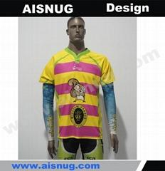 Printing custom cycling team jerseys with small MOQ
