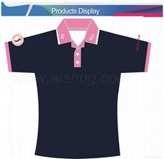 广告polo t-shirt