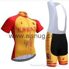 2017 ropa ciclismo  vuelta a espana cycling jersey
