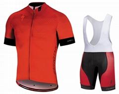 5xl透气吸湿排汗定制团队自行车服