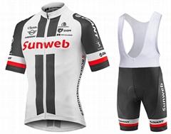 2018年定制升华印刷sky 团队自行车服