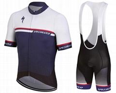 定製自行車運動衫2018年職業隊男士速干自行車服裝
