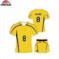 OEM kids promotion football soccer jersey uniform 3