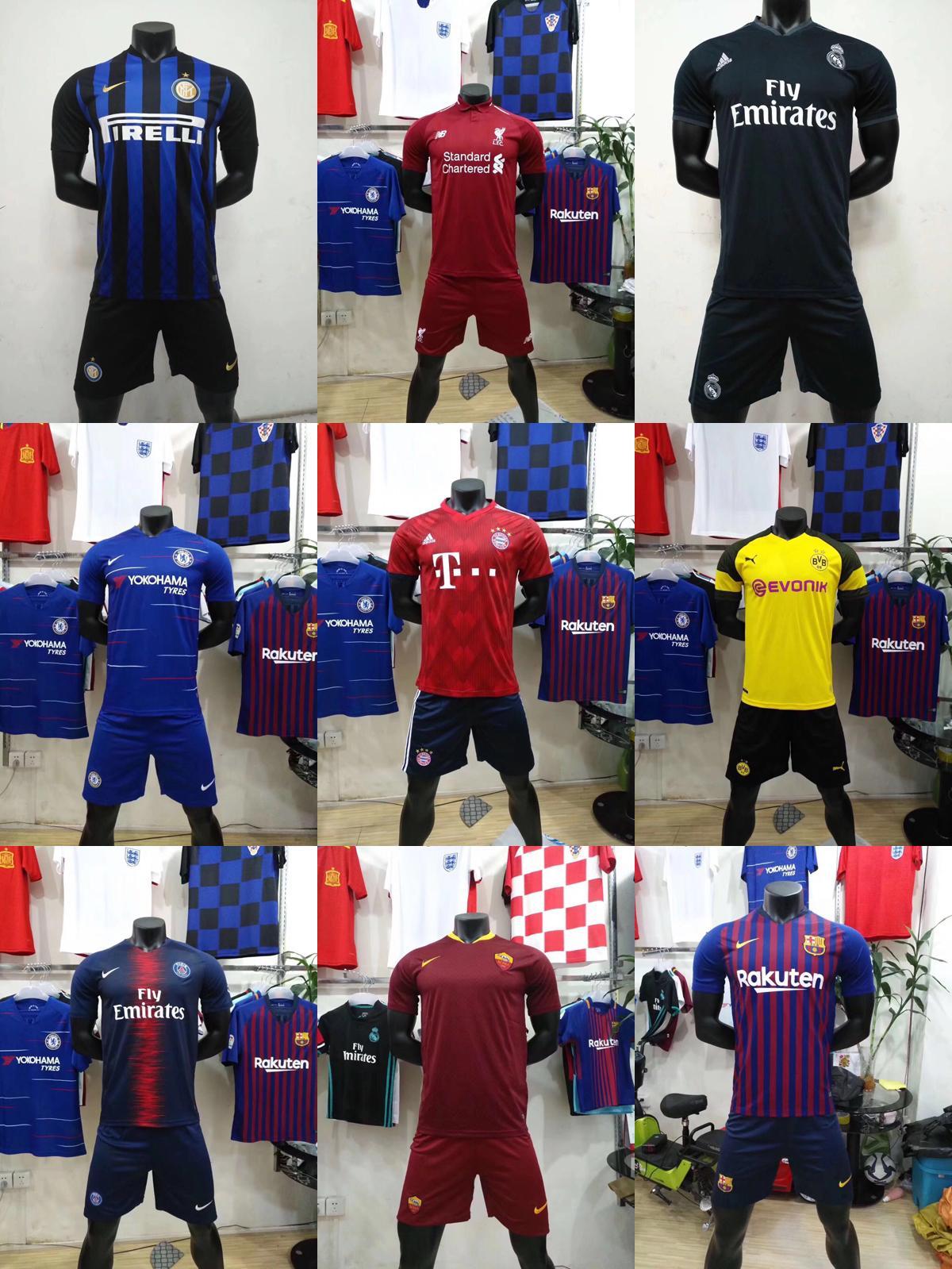 2018 World Cup soccer uniforms wholesale 1