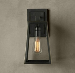 Iron modern wall lamp industry lamp