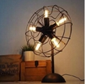 European style Loft RH decorated fan