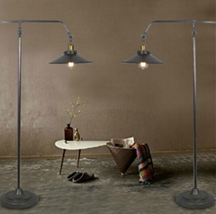 American style creation bedroom floor lamp iron floor lamp reading floor lamp