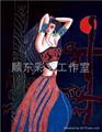 景泰藍現代民俗風格裝飾畫 2