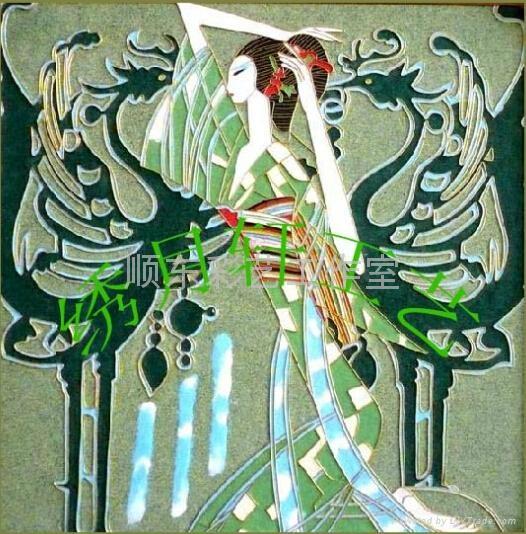 景泰藍現代民俗風格裝飾畫 5