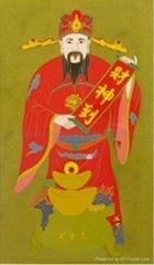景泰藍佛教裝飾畫
