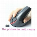 Wireless mouse Superior Ergonomic health mouse for Alleviate Wrist Fatigue