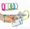 Cool Bracelet USB cables with Metal Buckle 4