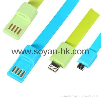 Cool Bracelet USB cables with Metal Buckle 5