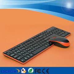 WIRELESS 2.4GB KEYBOARD AND MOUSE COMBO WITH NANO RECEIVER IN ENGLISH