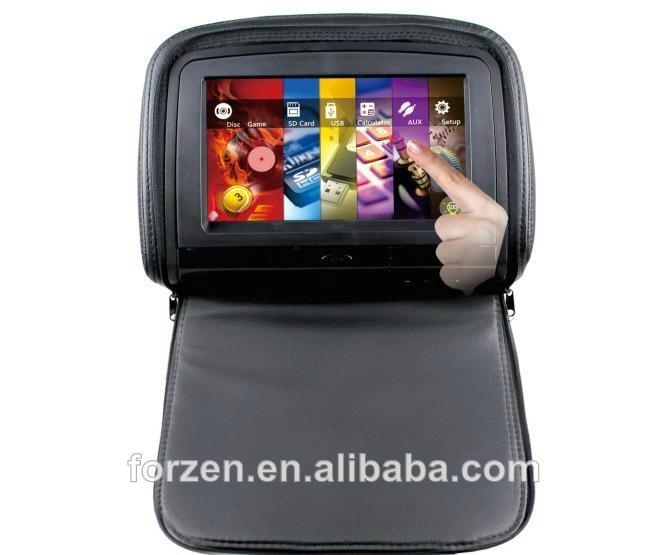 High quality 9 inch Touch OSD Key and CE Certification headrest Car 1