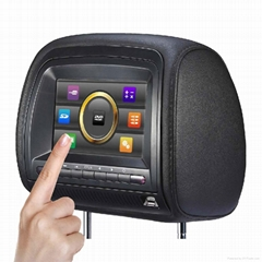7'' car lcd monitor mini tv with touch screen 32 bit games for universal car