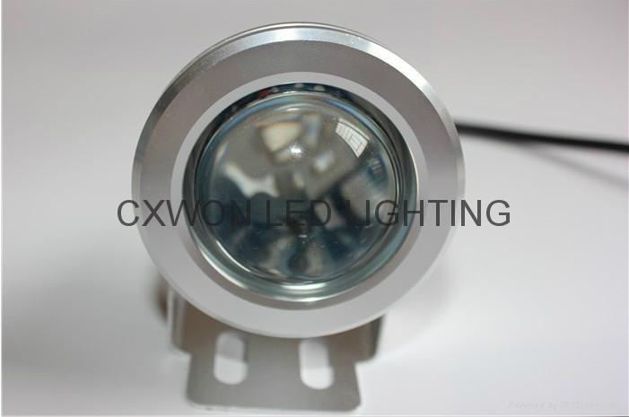 led Underwater rgb remote control lamp 12/24v decoration pool lights 1