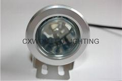 led Underwater rgb remote control lamp 12/24v decoration pool lights