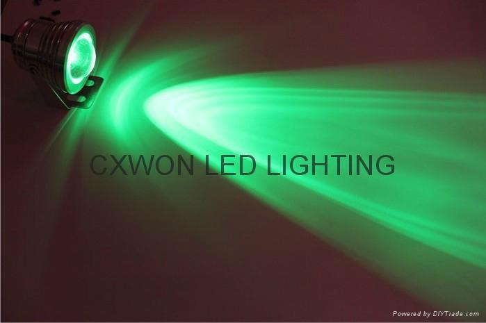 led Underwater rgb remote control lamp 12/24v decoration pool lights 3