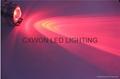 led Underwater rgb remote control lamp 12/24v decoration pool lights 4