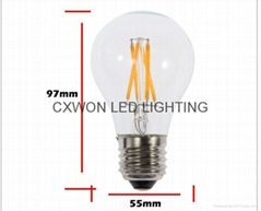 LED 4W Filament bulbs 360 degree