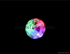 Dazzling E27 3W RGB LED Laser Stage Light Crystal Magic Ball Bulb