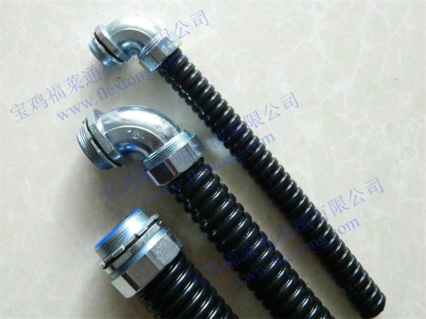 机床用耐油阻燃包塑穿线软管 2