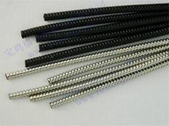 出口不锈钢包塑穿线蛇皮管