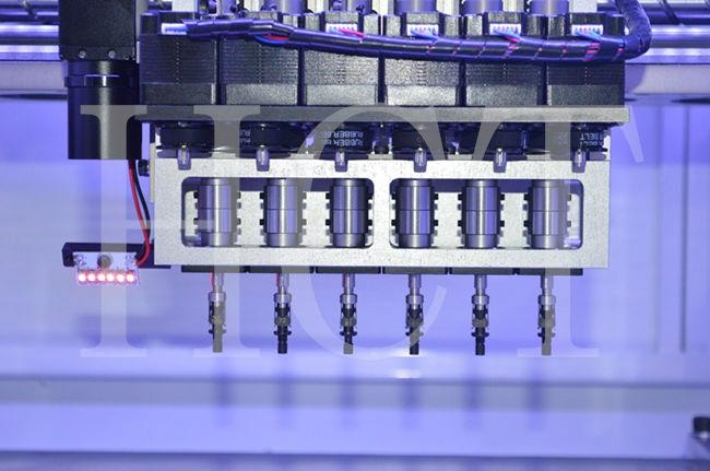 Smt Production Line Automatic Pick And Place Machine Hct