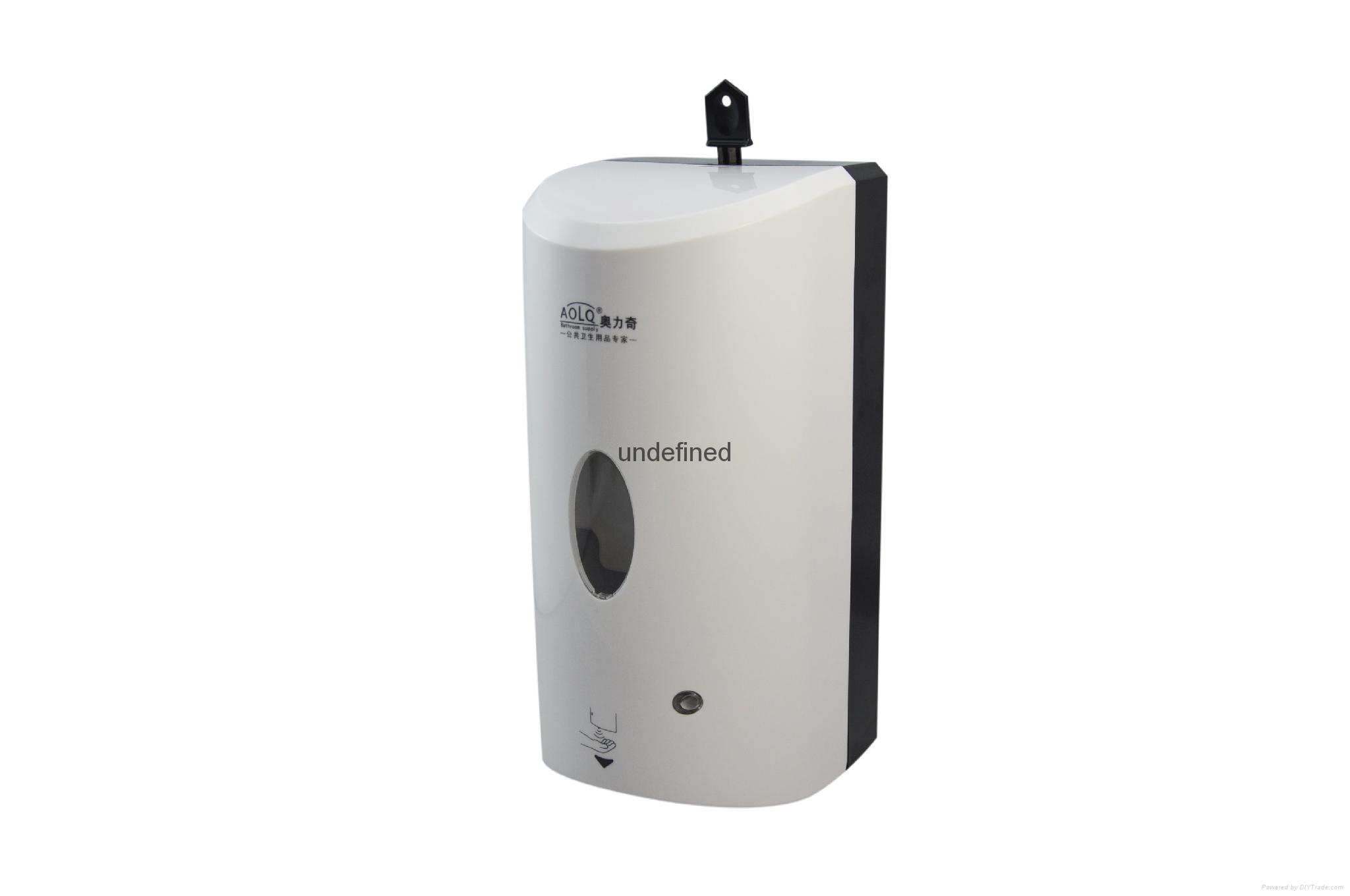 Automatic Soap Dispenser Plastic Hand Free Sensor Soap Dispenser 4