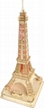 Eiffel tower world architecture plan toy   wooden model 1