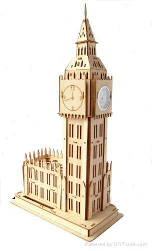 UK Big Ben world architectrue model building 1