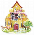 princess castle   educational model