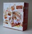 Restaurant plan toy  DIY sets doll house 3