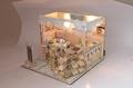 Ice cream house   plan toy   model building   DIY house  wooden  art 3